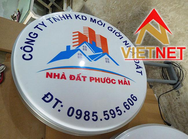 Hút nổi hộp đèn Nhà đất Phước Hải