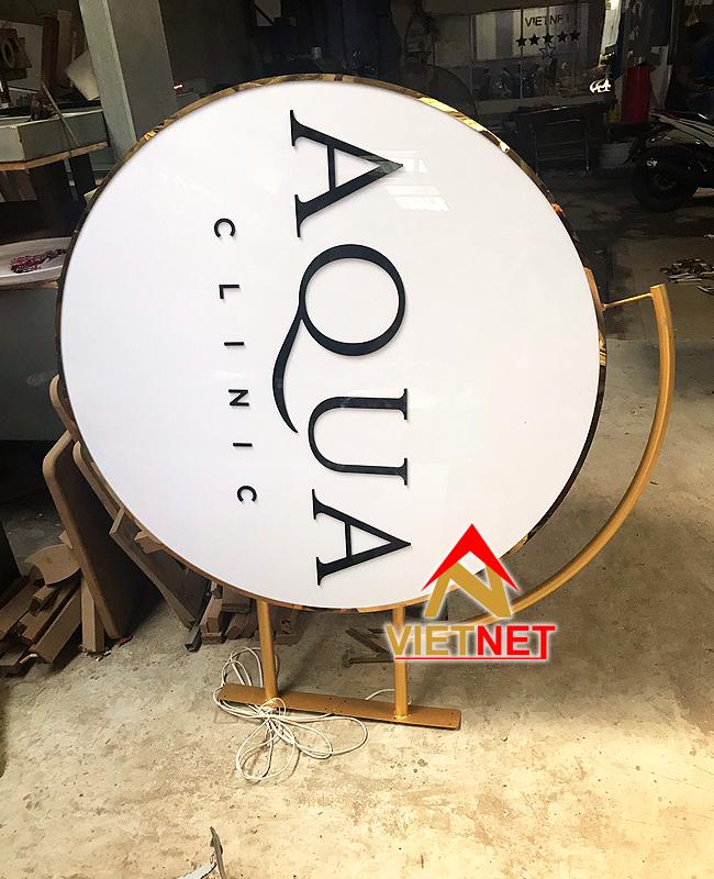 Hộp đèn quảng cáo AQua Clinic